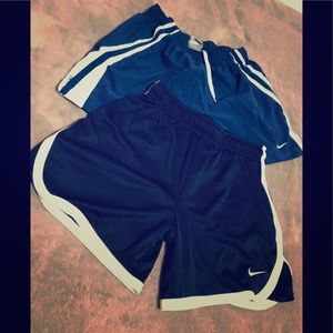 NIKE shorts bundle - size large girls